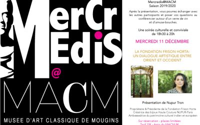 "Conference At Museum of Art Classics of mougins ""MACM"""